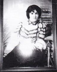 Audrey Dunlop (nee Sidney), from a painting (Peculiar Hand) Tags: westernaustralia audreydunlop audreysidney 1919