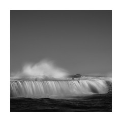 Ladder up! (Nick green2012) Tags: sennen storm square silence longexposure blackandwhite minimal