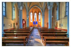 Eisenach - Pfarrkirche St. Elisabeth 01 (Daniel Mennerich) Tags: thuringia eisenach catholics