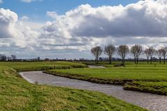 Wind and clouds in the polder (jan.vd.wolf) Tags: cloud clouds eempolder landschap landscpape polder thenetherlands wolken eemnes utrecht nederland nl