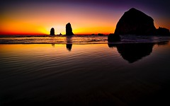 Evening Grace (Ray Mines Photography) Tags: ngc sunset twilight evening northwest coast beach stack sea ocean pacific haystack oregon