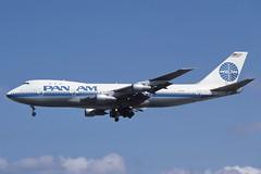 N748PA Heathrow 24-8-1986 (Plane Buddy) Tags: n748pa boeing 747 panam lhr heathrow