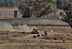 On the track 2 crp (ozbuglady) Tags: escort ford carr car iyk000 john hadden helen