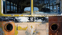 (jtr27) Tags: dscf4132xl jtr27 fuji fujifilm xt20 xf 35mm f2 f20 rwr wr antique vintage classic junkyard bus patina entropy decay wabisabi maine