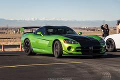 Spec (Hunter J. G. Frim Photography) Tags: supercar colorado track invictus dodge viper srt10 acr green manual v10 american coupe dodgevipersrt10 dodgeviperacr wing