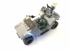Warthog left front (dreki.bryni) Tags: brickforge brickarms halo afol moc lego