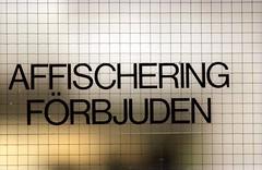 Affischering förbjuden (Linzen004) Tags: stockholmsuniversitet