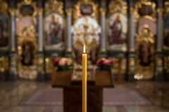 Nevena Uzurov -  Candle light (Nevena Uzurov) Tags: church ortodox bokeh dof sooc indoor sewmskamitrovica serbia nevenauzurov candle