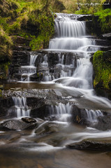 Nether North Grain (EXPLORED) (MDJL Landscapes) Tags: peakdistrict nationalpark snakepass waterfall longexposure nethernorthgrain kinderscout bleaklow upperderwentvalley nikon landscapephotography beautifulbritain scenic winter river ngc