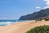 Polihale State Park Surfers (strjustin) Tags: polihale hawaii kauai beautiful beach landscape mountains surfer