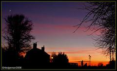 Silhouettes at  Sunset (Hedgeman2006) Tags: beeston dusk england evening greatbritain goldenhour nottingham ng9 nottinghamshire pink rivertrent sunset sky tourism trees tree twilight unitedkingdom silhouette silhouettes