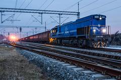 HZ 2063 003, Turopolje (josip_petrlic) Tags: hž hrvatske željeznice croatian railways railway railroad gm emd gt26cw2 diesel locomotive lokomotiva lokomotive teretni vlak freight train eisenbahn dellok ferrovia locomotora hz 2063