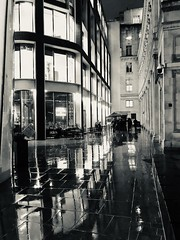 Angel Court, City of London (rory_bergin) Tags: winter night architecturephotography london reflections rain architecture angelcourt