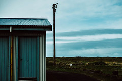Isolation (Sonia gsgs) Tags: iceland isolation nikon d3300 nikonphotography nikkor35mm mood house coastal coast
