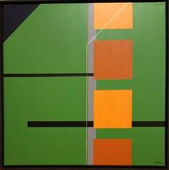 WEG 1  2018 (HolgerArt) Tags: konstruktivismus gemälde kunst art acryl painting malerei farben abstrakt modern grafisch konstruktiv