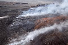 Kilauea, Pu'u O'o Crater, Hawai'i (Big Island) (Roger Gerbig) Tags: hawaii kilauea volcano eruption lava rogergerbig canoneos5dmarkii ef24105mmf4lisusm puuoo easternriftzone 2685