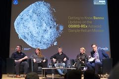 DAK_5257r (crobart) Tags: bennu osirisrex asteroid samplereturn mission rom connects talk public royal ontario museum