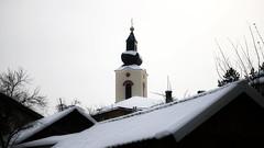 Striving towards the sky (superhic) Tags: church faith snow winter crkva sneg zima bosna bosnia