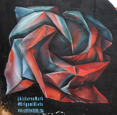 Airborne Mark + Origami Riots 4 (1978-1987) Tags: streetart camdenstreetart camdentown urbanart graffiti airbornemark origamiriots