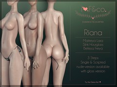 Riana (Ainadara Resident) Tags: i3f i3fco maitreya fashion original mesh event exclusive slink hourglass belleza freya latex slip undress me scripted script fetish fair bow gloss unwear