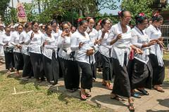 (kuuan) Tags: bali indonesia purapenataransasih pejeng odalan temple festival balinese ceremony ladies dance procession sonyrx100iii