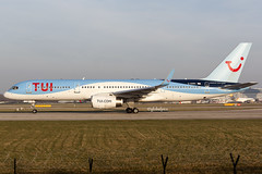 G-OOBN (globalpics images) Tags: tuiairlines boeing boeing757 goobn jet man manchester avgeek aviation runway takeoff airliner egcc