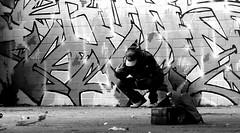 Oldenburg - (street: Melkbrink) 771st picture / Graffiti, street art (tusuwe.groeber) Tags: projekt project lovelycity graffiti germany deutschland lowersaxony oldenburg city streetart niedersachsen farbig farben favorit colourful colour sony sonyphotographing nex7 bunt red rot art gebäude building gelb grün green yellow konzept concept wall wand halloffame wandgestaltung lager lagerhalle hall halle melkbrink black white bw sw schwarz weis blanco negro