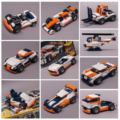31089 10in1 (KEEP_ON_BRICKING) Tags: lego creator 3in1 set 10in1 moc mod rebuild alternative build legomoc legocar car vehicle remake custom design 2019 keeponbricking awesome