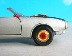 Corgi Toys No. 343 Pontiac Firebird 1969 With Red Spot Wheels : Diorama Futuristic Double Moon - 1 Of 13 (Kelvin64) Tags: corgi toys no 343 pontiac firebird 1969 with red spot wheels diorama futuristic double moon