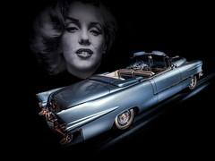 CADDY (Dave GRR) Tags: cadillac retrocar vintage classic merylin monroe toronto auto show 2019 olympus