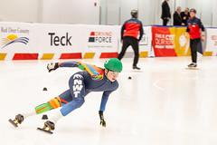 Kelly Tarala 2019 02 18 Short Track Speed Skating-127 (Kelly Tarala Photo) Tags: alberta canadawintergames corner icerink icesheet indoors lap oval pursuit reddeer round skate skater slipstream speed sport start