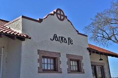 Santa Fe (slammerking) Tags: depot railroad santafe trainstation prattkansas