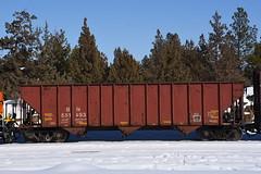 BN 551493 (Austin Jacox) Tags: burlington northern freight car oregon nikon