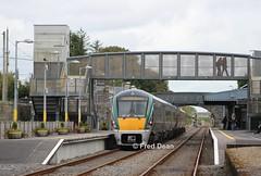 Irish Rail Sets 7 & 51 in Athenry. (Fred Dean Jnr) Tags: iarnrodeireann irishrail 22007 22051 athenrystationgalway september2016 galway athenry icr intercityrailcar rotem mgwr midlandgreatwesternrailway