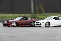 On Your Tail (Find The Apex) Tags: nolamotorsportspark nodrft drifting drift cars automotive automotivephotography nikon d800 nikond800 nissan 240sx nissan240sx s13 tandemdrift tandem tandemdrifting tandembattle