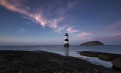 Penmon lighthouse (peter howse) Tags: sunset seascape snowdonia penmon lighthouse evening calm clouds wales sureal calming canon leefilters 5d3