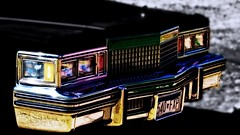 """Bring back """"Bob a Job Week"""" (Bob's Digital Eye 2) Tags: 2017 abstract automobles blackandwhite blue bobsdigitaleye cadillac canon canonefs55250mmf456isstm car chrome color coloured flicker flickr green grille metal metalic orange pink reflections t3i vehichle yellow"""