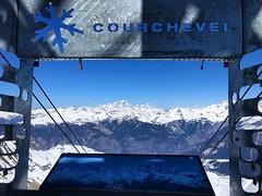 View Over Courchevel (Marc Sayce) Tags: spring march 2019 mountains snow snowboarding skiing ski resort three valleys trois vallées savoy savoie courchevel