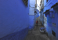Chefchaouen, Morocco, January 2019 D700_345 (tango-) Tags: chefchaouen bluecity villaggioblu bluevillage morocco maroc 摩洛哥 marruecos марокко المغرب