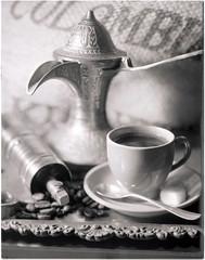 Coffee Time (Valentine Kleyner) Tags: bw film fomadon d76 4x5 lf coffee stilllife wista fujinon stand