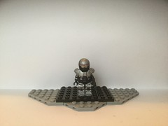 Lego Custom: RoboCop (2014 Silver Version) (Wilson, Wilson, & Wilkins) Tags: lego custom legocustom robocop robotcop robot cop police policeofficer terminator officer cyborg future heroes hero movie movies film films 2014 meme memes kfc kernalsanders
