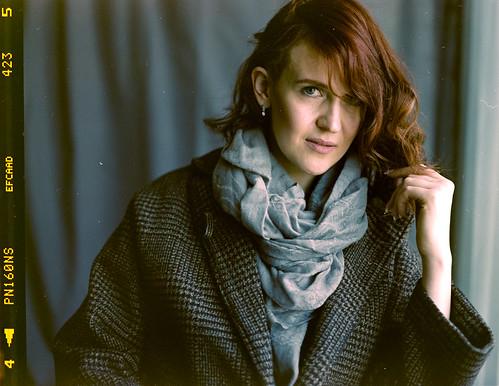 Anna, photo on Hasselblad 500CM