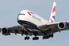G-XLEF / British Airways / Airbus A380-841 (Charles Cunliffe) Tags: canon7dmkii aviation londonheathrowairport egll lhr britishairways baw ba airbusa380 a380800 gxlef