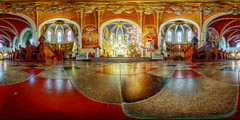 župnijska cerkev svetega Martina (jamescastle) Tags: gothicrevival bled slovenia 360 vr panorama equirectangular church europe