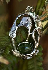 Green, green greenstone (Greenstone Girl) Tags: macromondays thefirstletterofmysurname gg greenstone green jewellery tree fern new zealand kia kaha christchurch