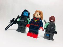Minerva, Carol & Korath | Captain Marvel
