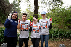 Alternative_Break_20190319_0242 (Sacramento State) Tags: sacramentostate sacstate californiastateuniversitysacramento universitycommunications hornets jessicavernone alternative break spring volunteer community engagement center stingers up solar house living building