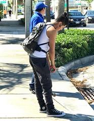 Urban Backpacker (LarryJay99 ) Tags: dude dudes florida guy guys handsome male man manly men people strangers studly urbanbackpackers urbanstreets urbanite virile westpalmbeach