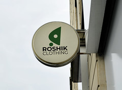 Roshik Clothing logo mockup (ismailrajib) Tags: brand branding britain building business cafe circle closeup coffeeshop commercial copyspace design england english europe european exterior frame identity industrial logo mockup name outdoor restaurant round rounded shape shop sign signage signboard store street uk wall