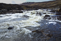 Callater Water in Spate (steve_whitmarsh) Tags: aberdeenshire scotland scottishhighlands highlands mountain hills water stream burn rocks waterfall topic